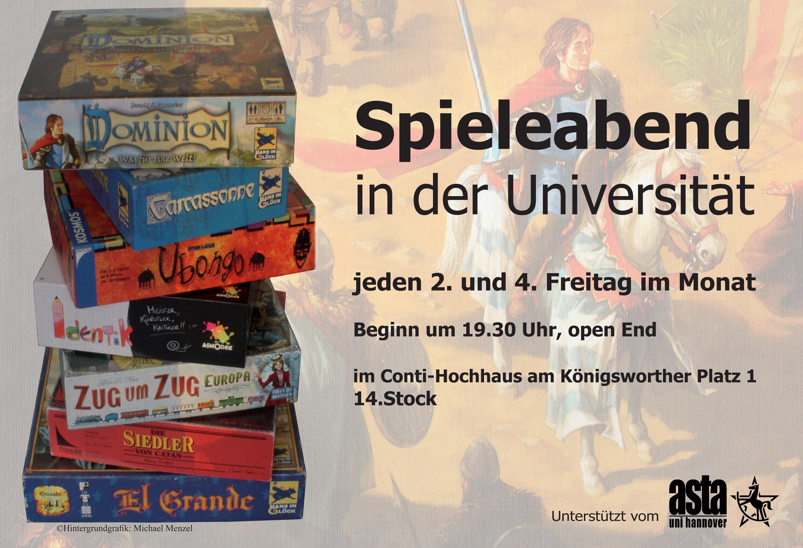 Spieleabend Plakat